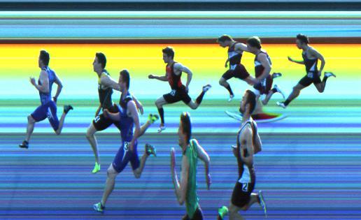 Otto Bacher 100M Boys Final